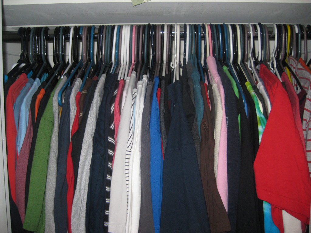 Clothing Declutter Needed