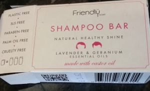 Trying Out Solid Shampoo Bar